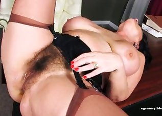 Impressive anal in the office with a MILF