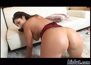 Busty mademoiselle fucked by a long dick